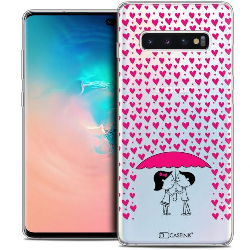 "Coque Crystal Gel Samsung Galaxy S10+ (6.4"") Extra Fine Love - Pluie d'Amour"