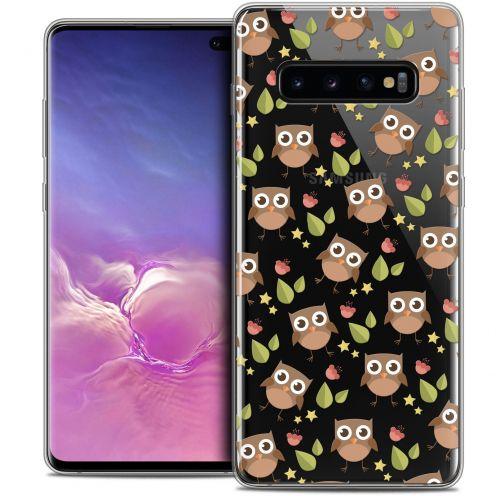 """Coque Crystal Gel Samsung Galaxy S10+ (6.4"""") Extra Fine Summer - Hibou"""