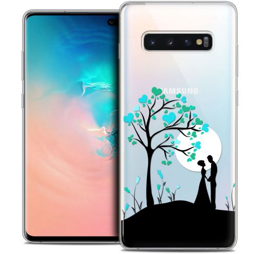 "Coque Crystal Gel Samsung Galaxy S10+ (6.4"") Extra Fine Love - Sous l'arbre"