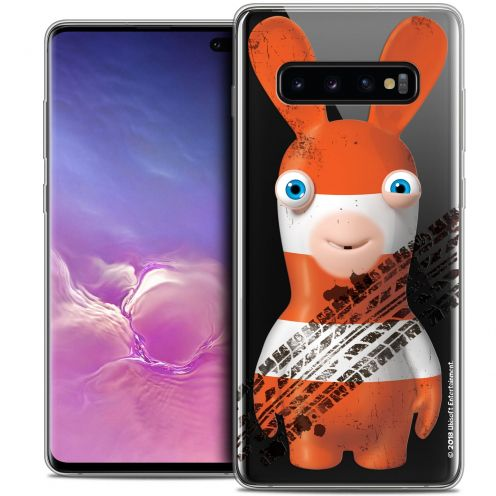"""Coque Gel Samsung Galaxy S10+ (6.4"""") Extra Fine Lapins Crétins™ - On the Road"""