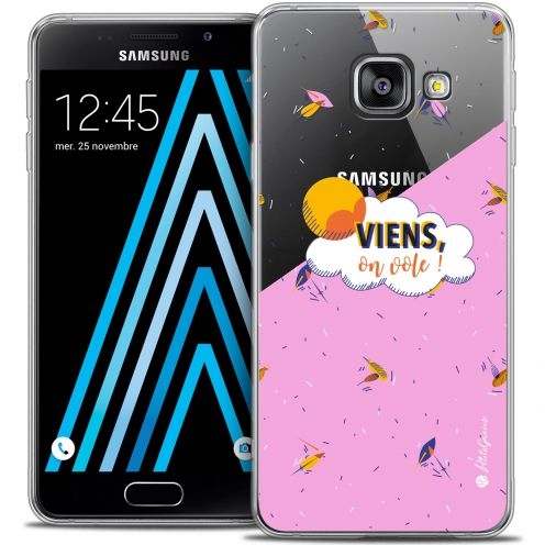 Coque Galaxy A3 2016 (A310) Extra Fine Petits Grains® - VIENS, On Vole !