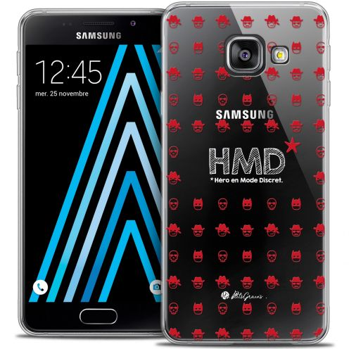 Coque Galaxy A3 2016 (A310) Extra Fine Petits Grains® - HMD* Hero en Mode Discret