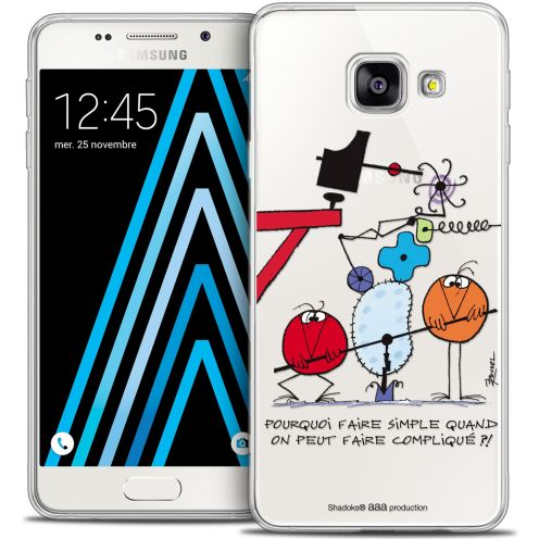Coque Galaxy A3 2016 (A310) Extra Fine Les Shadoks® - Pourquoi faire Simple