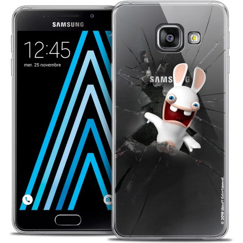 Coque Galaxy A3 2016 (A310) Extra Fine Lapins Crétins™ - Breaking Glass