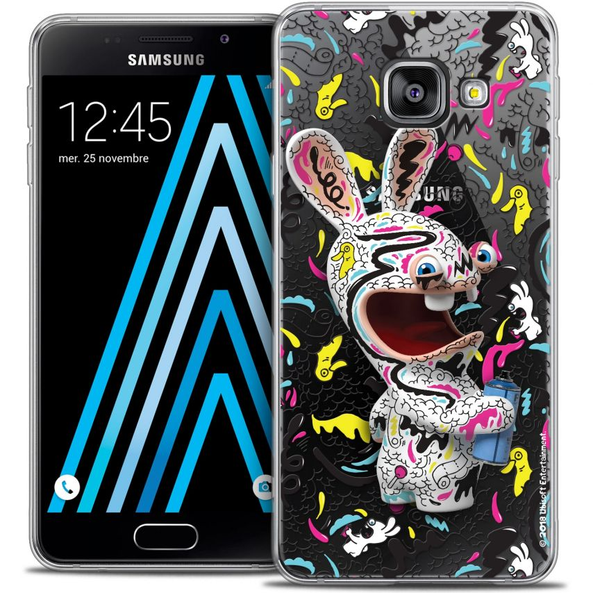 Coque Galaxy A3 2016 (A310) Extra Fine Lapins Crétins™ - Tag