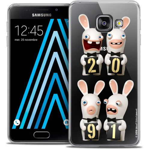 Coque Galaxy A3 2016 (A310) Extra Fine Lapins Crétins™ - New Year