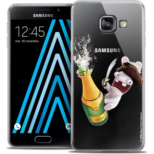 Coque Galaxy A3 2016 (A310) Extra Fine Lapins Crétins™ - Champagne !