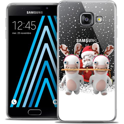 Coque Galaxy A3 2016 (A310) Extra Fine Lapins Crétins™ - Lapin Traineau