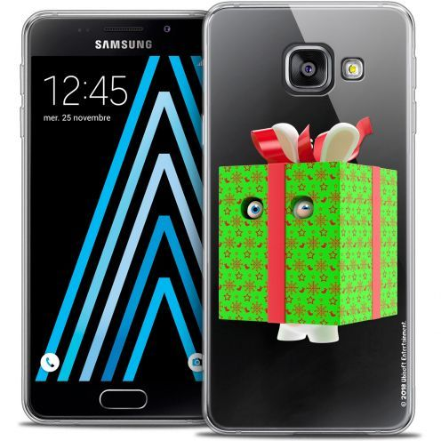 Coque Galaxy A3 2016 (A310) Extra Fine Lapins Crétins™ - Lapin Surprise Vert