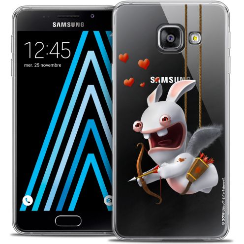 Coque Galaxy A3 2016 (A310) Extra Fine Lapins Crétins™ - Flying Cupidon