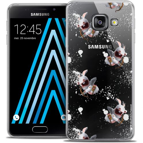 Coque Galaxy A3 2016 (A310) Extra Fine Lapins Crétins™ - Cupidon Pattern