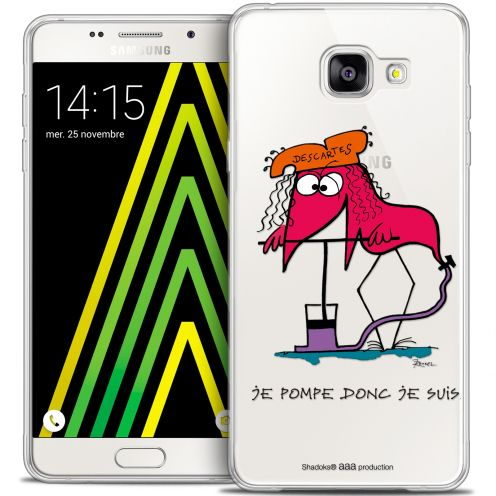 Coque Galaxy A5 2016 (A510) Extra Fine Les Shadoks® - Donc Je Suis