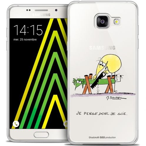 Coque Galaxy A5 2016 (A510) Extra Fine Les Shadoks® - Je pense Donc