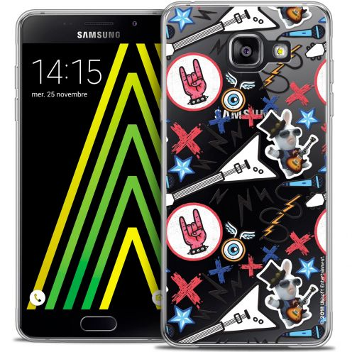 Coque Galaxy A5 2016 (A510) Extra Fine Lapins Crétins™ - Rock Pattern