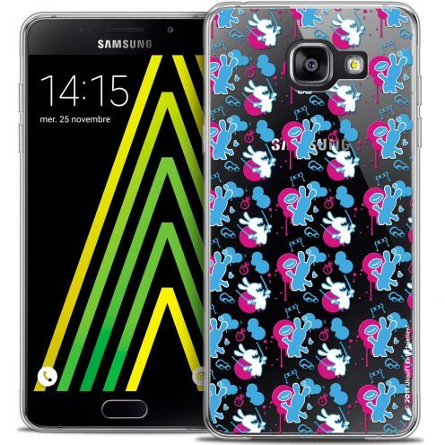 Coque Galaxy A5 2016 (A510) Extra Fine Lapins Crétins™ - Rugby Pattern