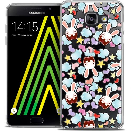 Coque Galaxy A5 2016 (A510) Extra Fine Lapins Crétins™ - Love Pattern