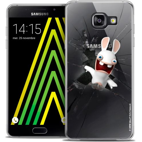 Coque Galaxy A5 2016 (A510) Extra Fine Lapins Crétins™ - Breaking Glass