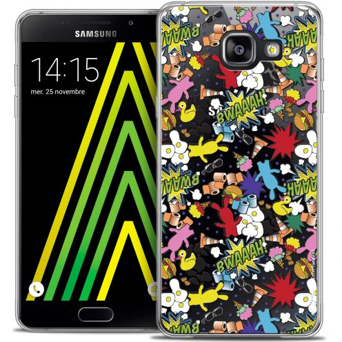 Coque Galaxy A5 2016 (A510) Extra Fine Lapins Crétins™ - Bwaaah Pattern