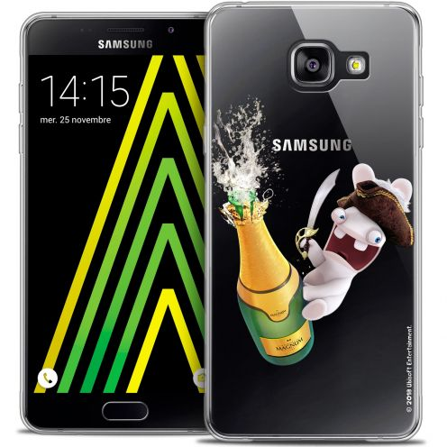 Coque Galaxy A5 2016 (A510) Extra Fine Lapins Crétins™ - Champagne !