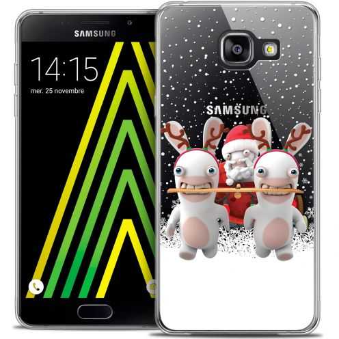 Coque Galaxy A5 2016 (A510) Extra Fine Lapins Crétins™ - Lapin Traineau