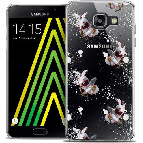 Coque Galaxy A5 2016 (A510) Extra Fine Lapins Crétins™ - Cupidon Pattern