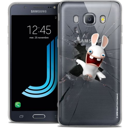 Coque Galaxy J5 2016 (J510) Extra Fine Lapins Crétins™ - Breaking Glass
