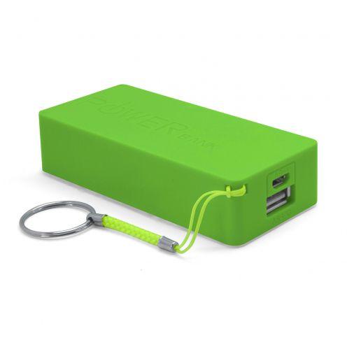 Visuel supplémentaire de Batterie Externe Stick Power Bank 5600mAh 1xUSB 1.0A - Vert