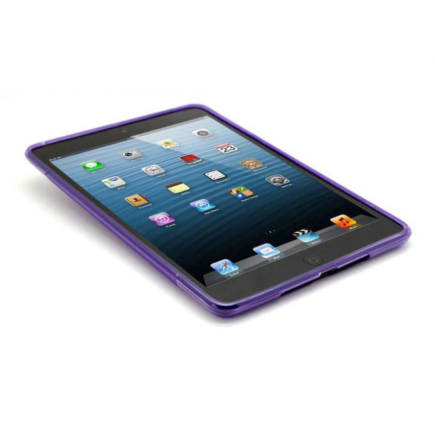 Visuel unique de Coque iPad Mini Tpu Basics S-Line Violet