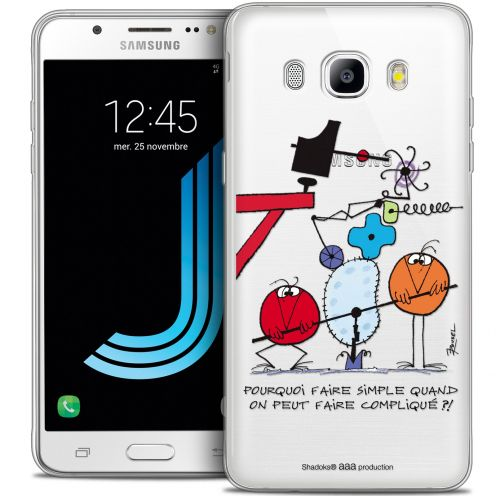 Coque Galaxy J7 2016 (J710) Extra Fine Les Shadoks® - Pourquoi faire Simple
