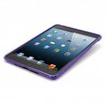 Visuel supplémentaire de Coque iPad Mini Tpu Basics S-Line Violet