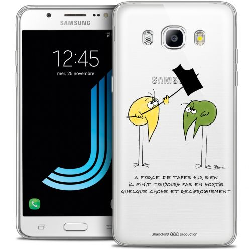 Coque Galaxy J7 2016 (J710) Extra Fine Les Shadoks® - A Force