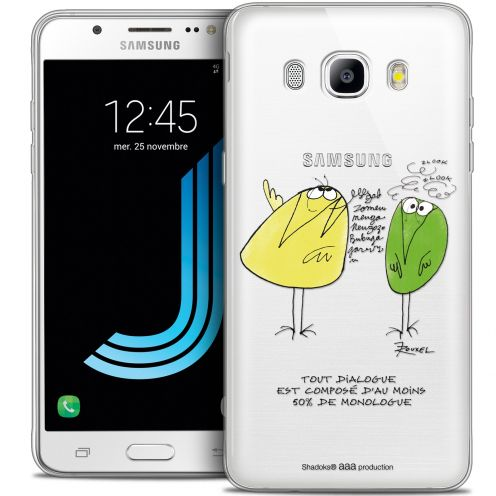 Coque Galaxy J7 2016 (J710) Extra Fine Les Shadoks® - Le Dialogue