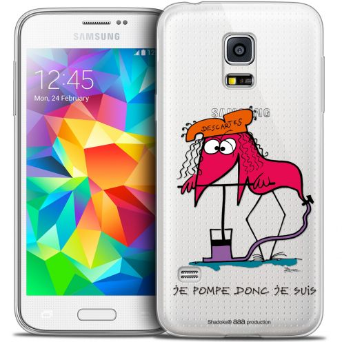 Coque Galaxy S5 Mini Extra Fine Les Shadoks® - Donc Je Suis