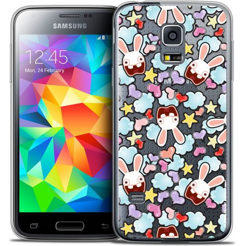 Coque Galaxy S5 Mini Extra Fine Lapins Crétins™ - Love Pattern