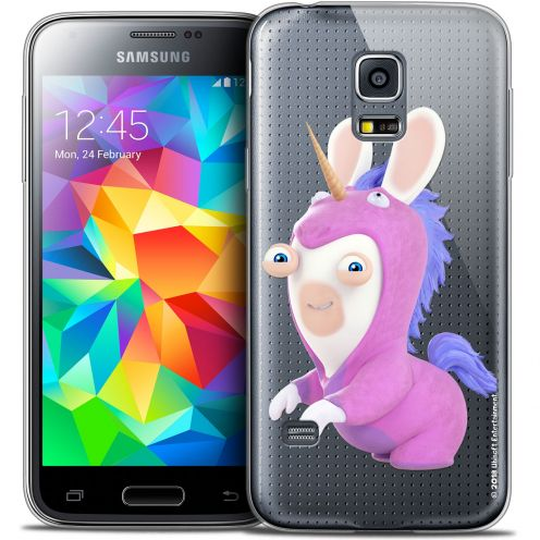 Coque Galaxy S5 Mini Extra Fine Lapins Crétins™ - Licorne