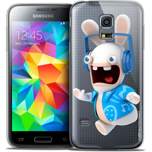 Coque Galaxy S5 Mini Extra Fine Lapins Crétins™ - Techno Lapin