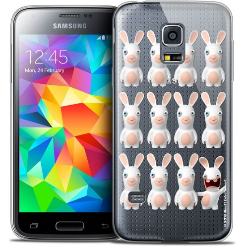 Coque Galaxy S5 Mini Extra Fine Lapins Crétins™ - Im ready Pattern
