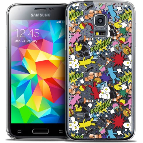 Coque Galaxy S5 Mini Extra Fine Lapins Crétins™ - Bwaaah Pattern
