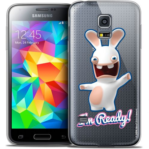 Coque Galaxy S5 Mini Extra Fine Lapins Crétins™ - I'm Ready !