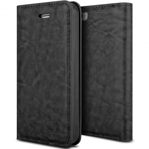 Visuel unique de Etui Apple iPhone 5/5s ProSkin Folio Smart Magnet Noir