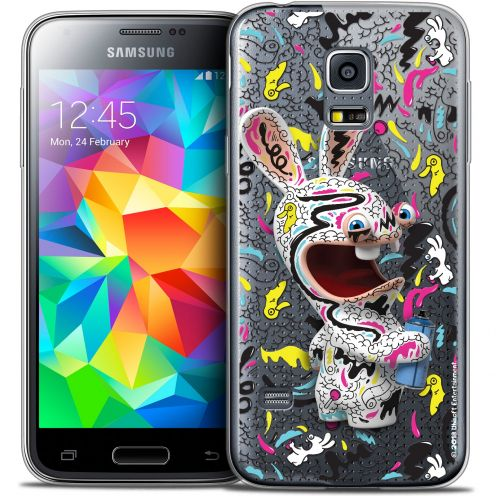 Coque Galaxy S5 Mini Extra Fine Lapins Crétins™ - Tag