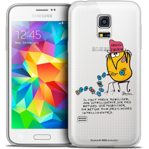 Coque Galaxy S5 Extra Fine Les Shadoks® - Einstein