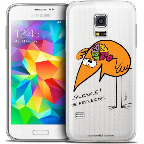 Coque Galaxy S5 Extra Fine Les Shadoks® - Silence !