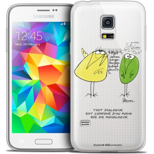 Coque Galaxy S5 Extra Fine Les Shadoks® - Le Dialogue
