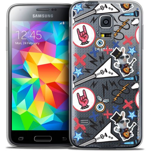 Coque Galaxy S5 Extra Fine Lapins Crétins™ - Rock Pattern