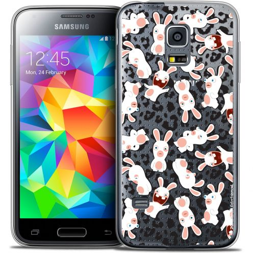 Coque Galaxy S5 Extra Fine Lapins Crétins™ - Leopard Pattern