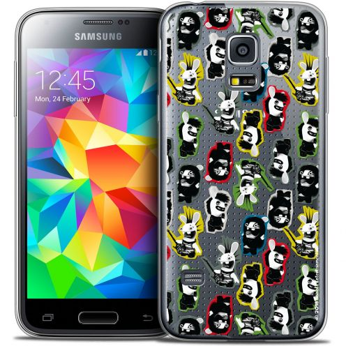 Coque Galaxy S5 Extra Fine Lapins Crétins™ - Punk Pattern