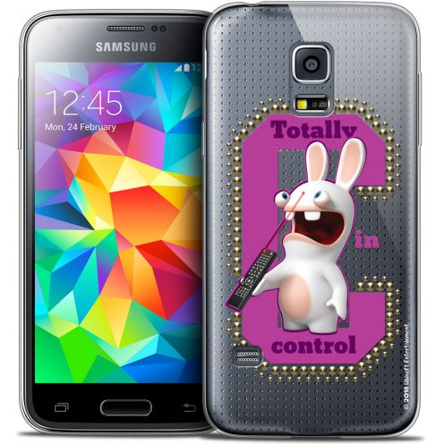 Coque Galaxy S5 Extra Fine Lapins Crétins™ - In Control !