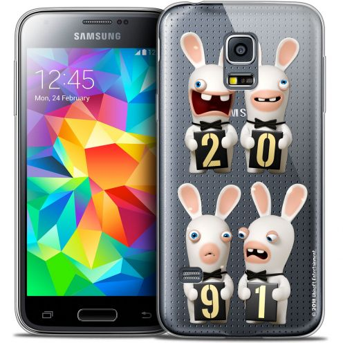 Coque Galaxy S5 Extra Fine Lapins Crétins™ - New Year