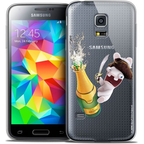 Coque Galaxy S5 Extra Fine Lapins Crétins™ - Champagne !